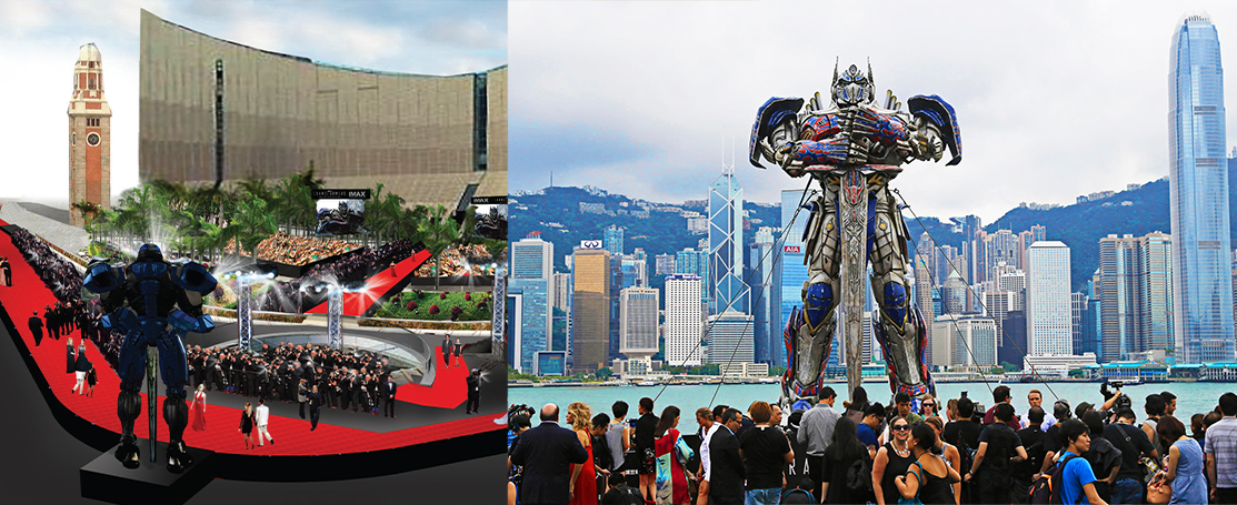 Photo Collage 2 – Concept – TRANSFORMERS