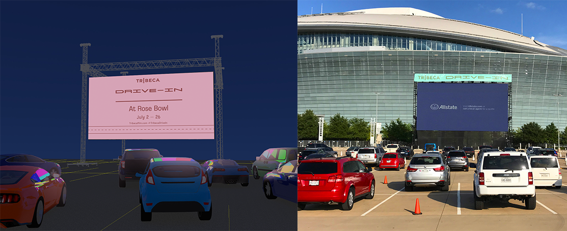 Photo Collage 2 – Concept – TRIBECA DRIVE-IN